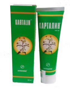 Карталин-мазь (фото мази)