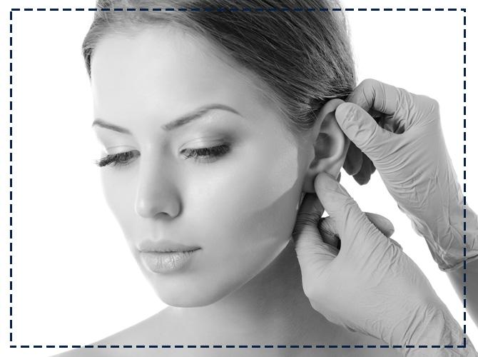 псориаз в области ушей