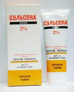 Паста сульсена 2% и шампунь